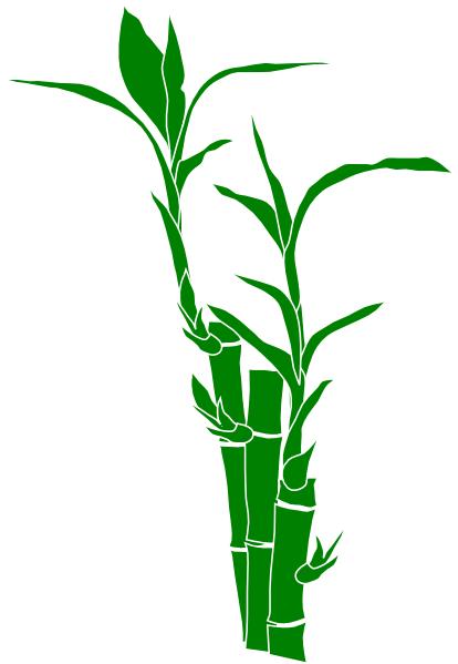 414x599 Bamboo Clip Art