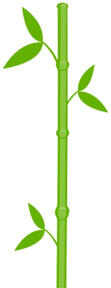 223x576 Bamboo Clipart I2clipart
