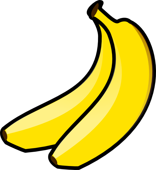 546x597 Image Of Bananas Clipart