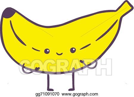450x326 Banana Clipart Cute