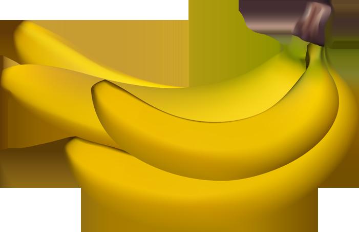 701x452 Banana Clipart Real Fruit