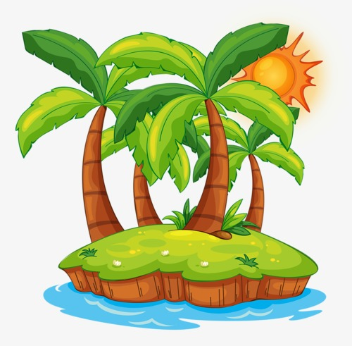 500x491 Coconut Tree, Great, Summer, Banana Tree Png Image And Clipart