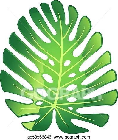 396x470 Leaves Images Clip Art Tropical Leaves Watercolor Leaves Clip Art