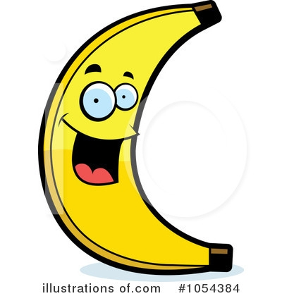 400x420 Banana Clipart Person