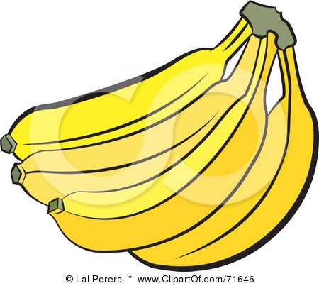 450x403 Banana Clip Art