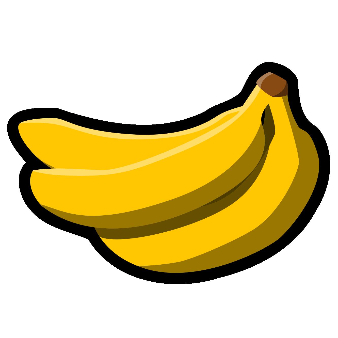 1331x1331 Banana Clip Art Black And Clipart Panda