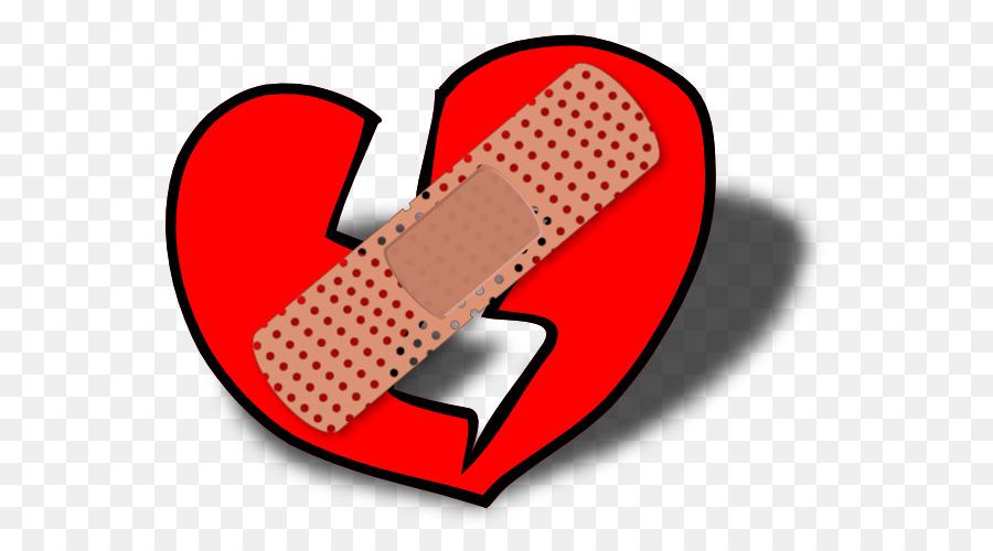 900x500 Broken Heart Band Aid Clip Art