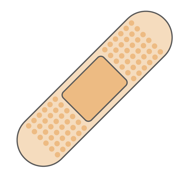 640x640 Band Aid Bandage Plaster Free Download Illustration Material