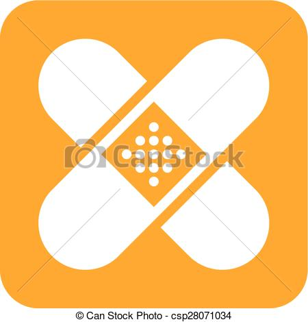 450x470 Band Aid. Band, Aid, Medical, Bandage Icon Vector Image. Can
