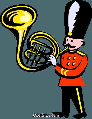 370x480 Royal Band Royalty Free Vector Clip Art Illustration Even0639