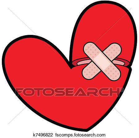 450x447 Bold And Modern Bandaid Clipart Clip Art Of Broken Heart