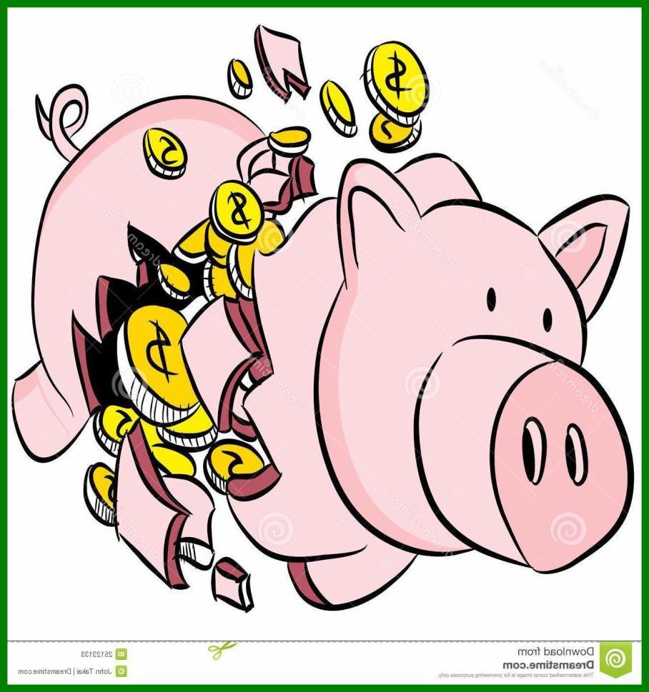 908x969 Eye Catching Broken Piggy Bank Clip Art Pictures Clip Art