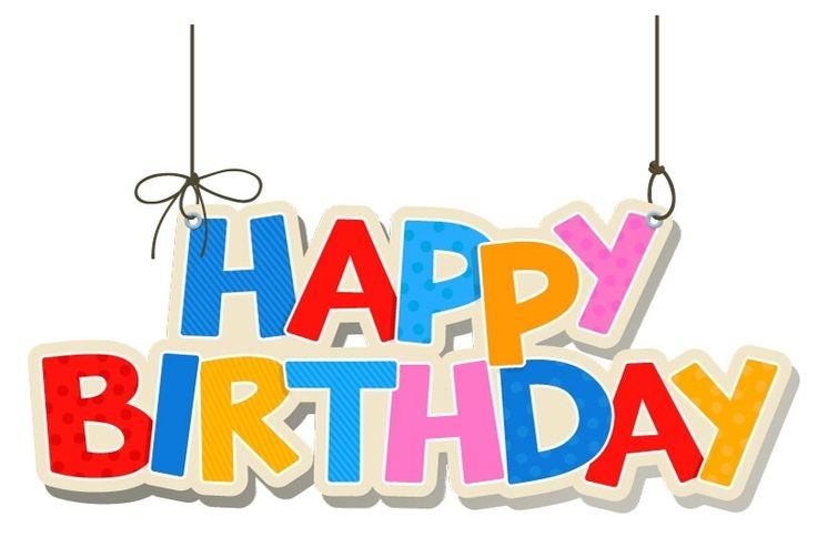 736x493 Birthday Clip Art Happy Birthday Banner ~ Frames ~ Illustrations