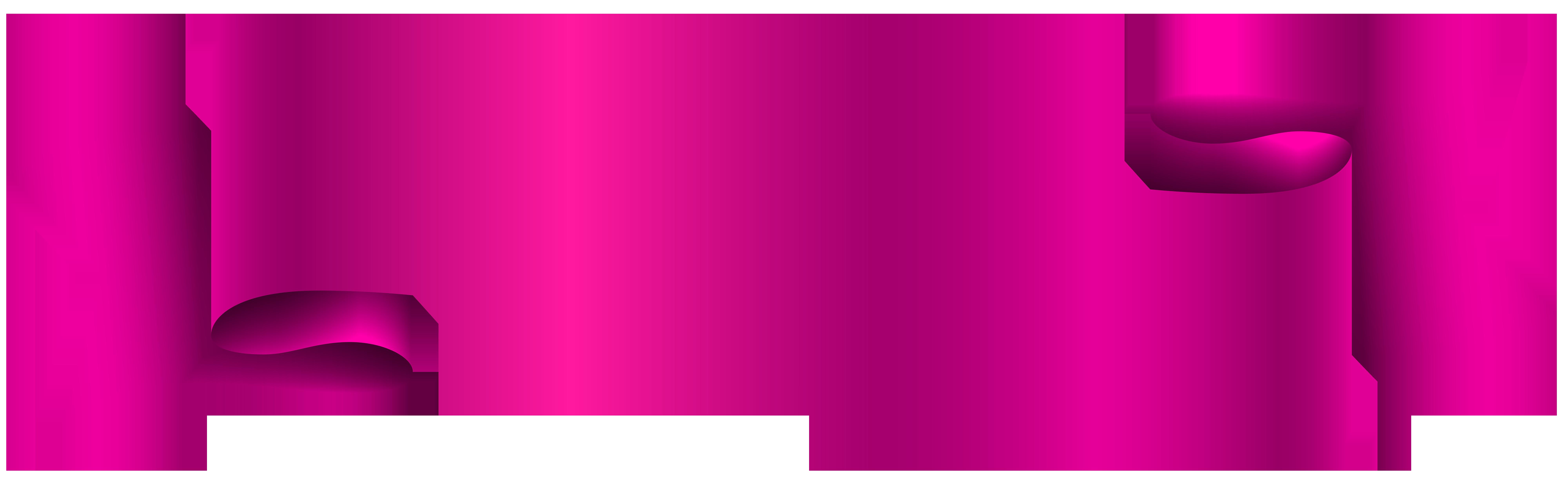 8000x2467 Pink Banner Transparent Png Clip Art Imageu200b Gallery Yopriceville