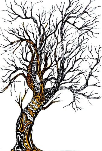 Banyan Tree Colouring Pages
