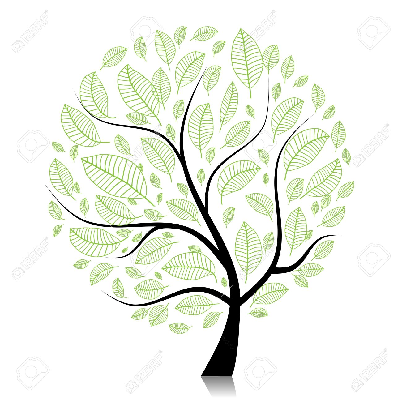 1300x1300 Bare Tree Outline Coloring Page Printable Pages Palm Images Image