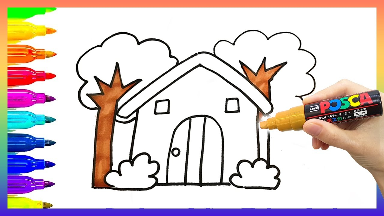 1280x720 Drawing For Nursery Kids Free Coloring Pages Printable Pictures