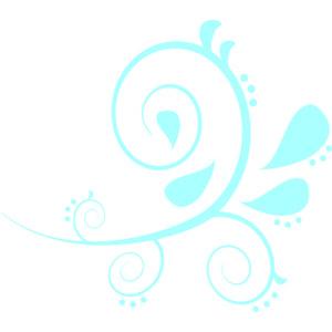 300x300 Elower Clipart Tiffany Blue 3504239