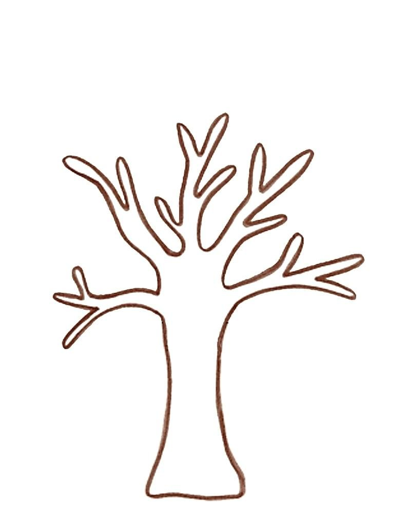 791x1024 Modern Tree Trunk Coloring Pages Frieze