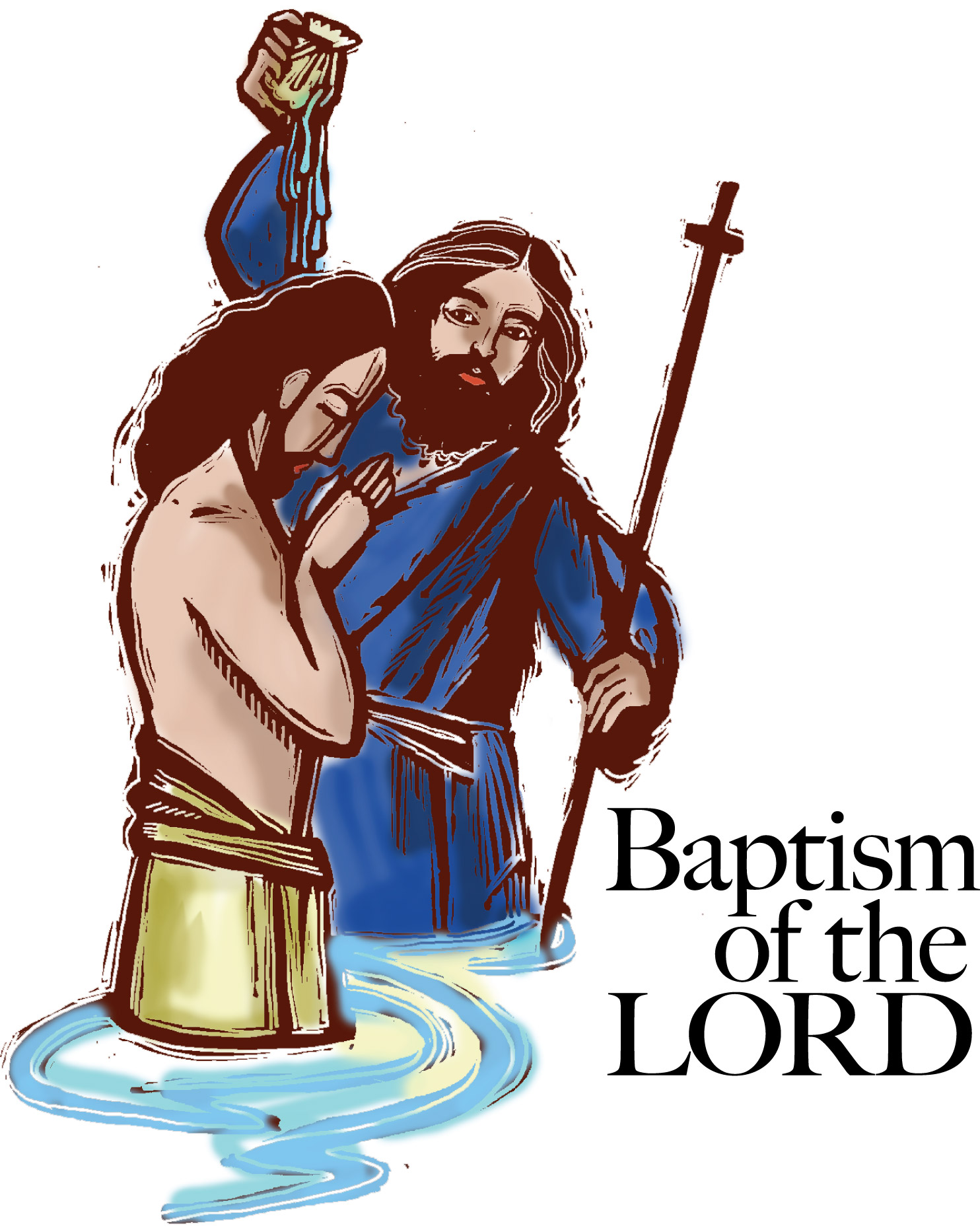 1484x1865 Baptism Of The Lord Clipart Baptism Of Jesus Clipart 9
