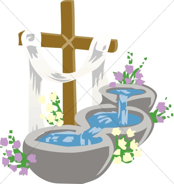 577x612 Baptism Pools Image Baptism Clipart