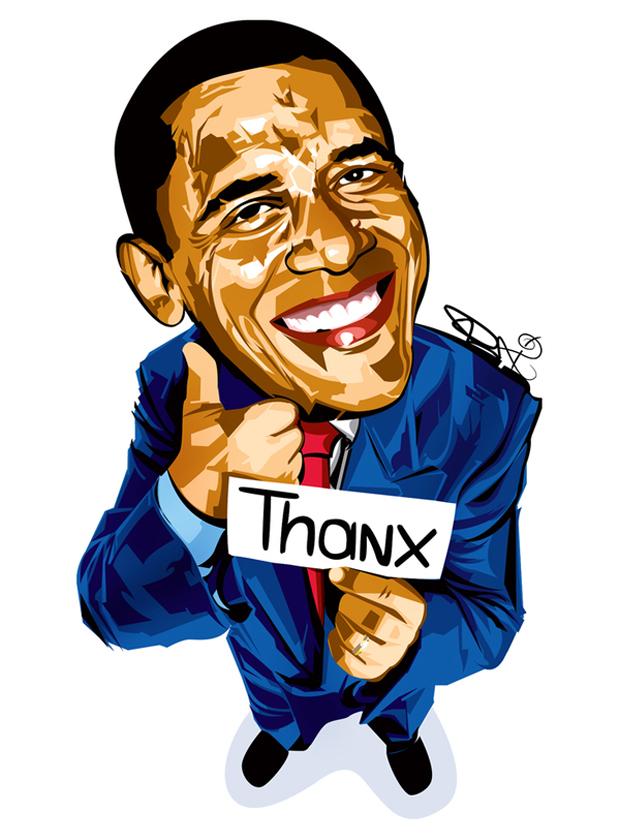 620x834 Funny Obama Clipart