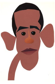 236x358 Illustration Of President Barack Obama, By Bob Staake. Pioneers