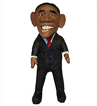 323x355 Large Barack Obama Pinata, 32 Party Game, Decoration