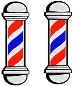 236x279 Barber Shop Pole Clip Art
