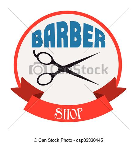 450x470 Barber Shop Design Barber Shop Design, Vector Illustration