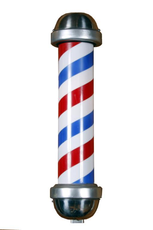 512x768 Image Of Barber Pole Clipart