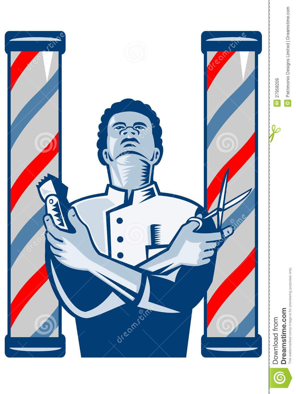 977x1300 Barber Shop Graphics Clipart