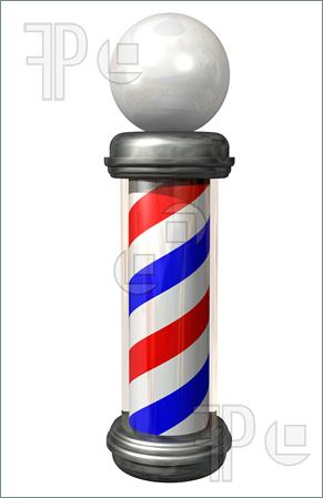 291x449 Barber Shop Pole Clip Art Clipart Panda