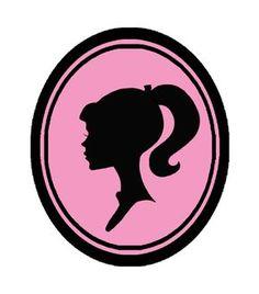 236x268 Vintage Barbie Clip Art, Barbie Svg, Barbie Silhouette, Barbie