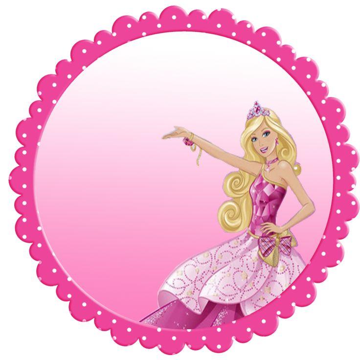 736x736 Barbie Clipart Circle