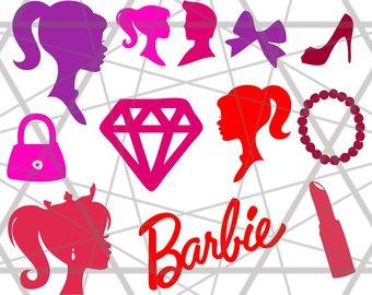 340x270 Barbie Clipart Etsy