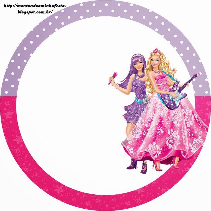 736x736 Barbie Clipart Rock Star