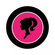175x175 Glam Barbie Silhouette Clipart