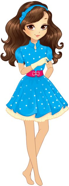 236x637 Cute Stuff Clip Art, Dolls And Girls