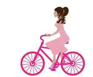 300x250 Girl On Bike Clipart Free Stock Illustration