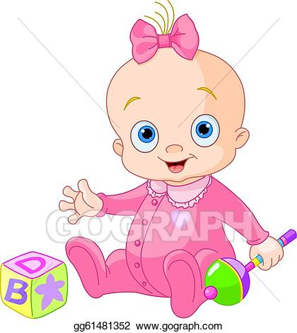 420x470 Pictures Baby Girl Clip Art Images,