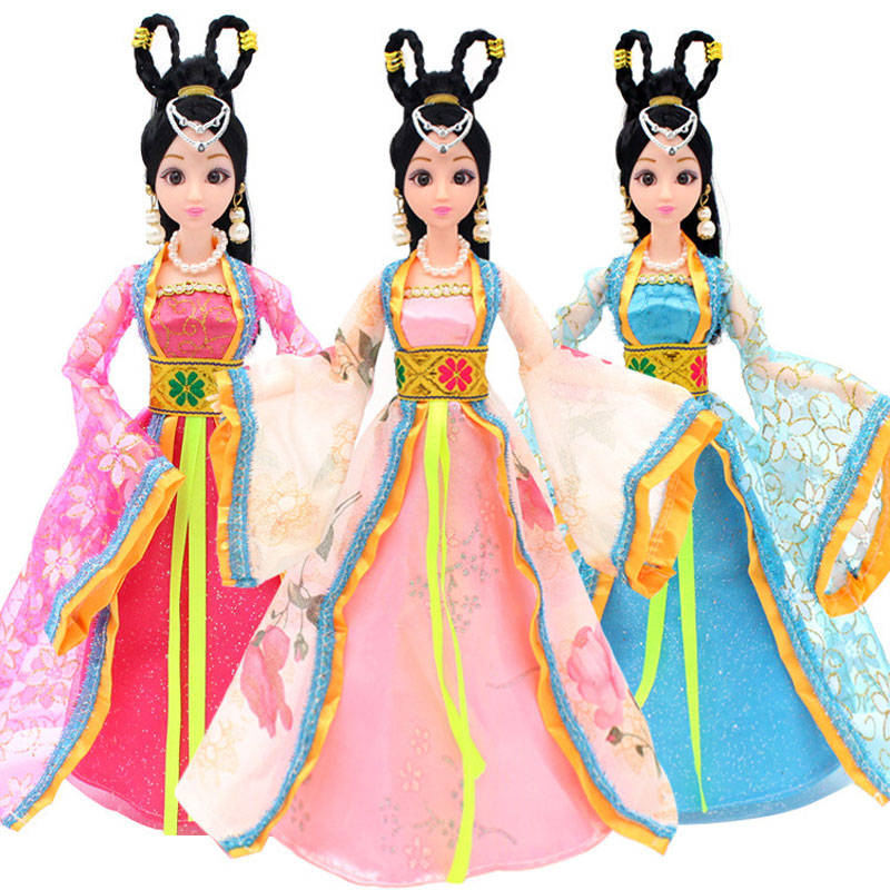 800x800 1pcs Chinese Traditional Ethnic Princess Dress Ancient Costume