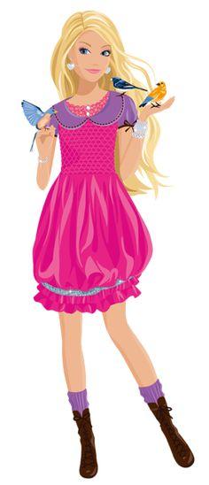 236x548 Transparentes Barbie Dibujos Marcos De Fotos