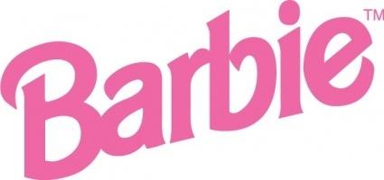 425x200 Barbie Clip Art