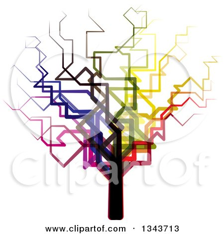 450x470 Royalty Free (Rf) Clipart Of Bare Trees, Illustrations, Vector