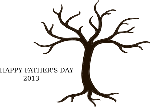 600x431 Tree Without Branches Clip Art
