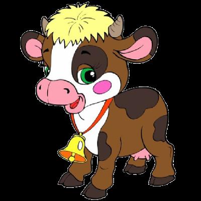 400x400 Cute Barn Animals Clip Art Farm Cartoon Animals Funny Cartoon