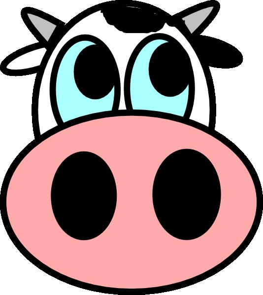 534x598 Farm Animals Clipart Face