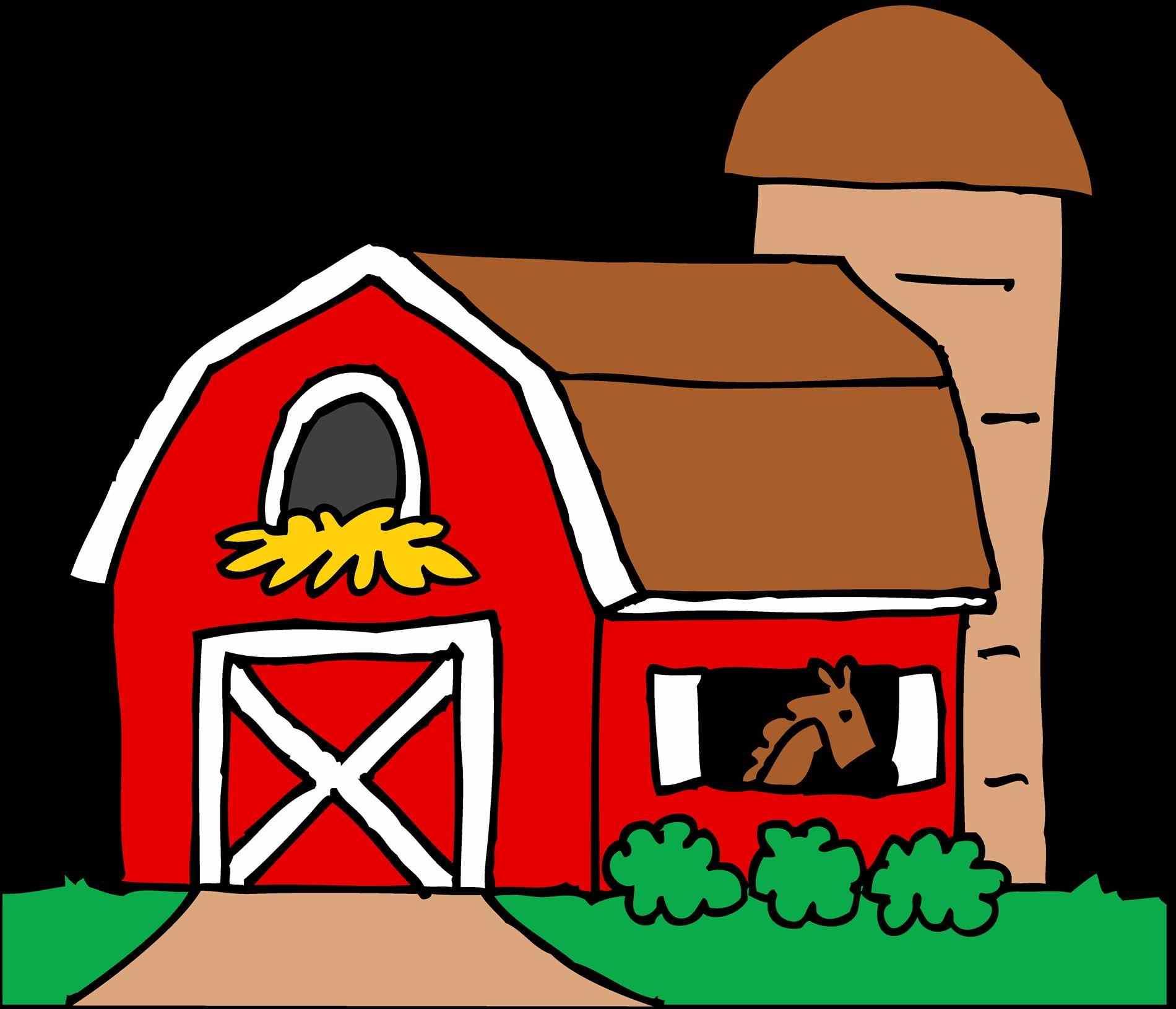 1900x1631 Little Horse Barn Clipart Red Free Clip Art Farm Hawaii