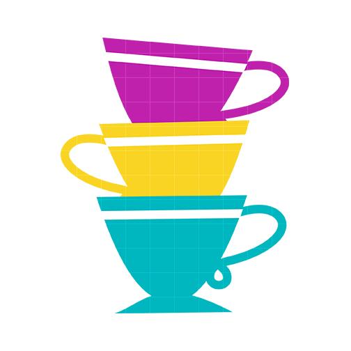 504x504 Tea Cup Pink Clip Art